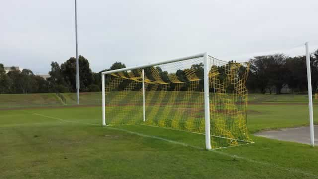 ** NEW ** Coloured soccer goal