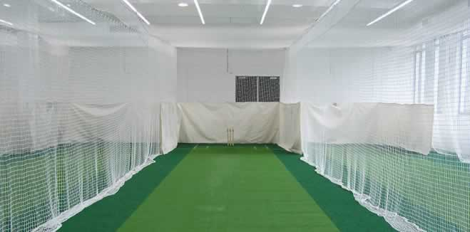 Oxley nets cricket nets for Indoor cricket net design