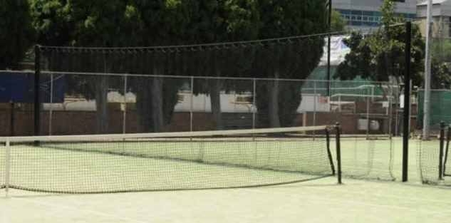 Tennis Net example, club