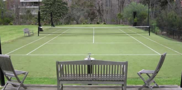 Tennis Net, private residence