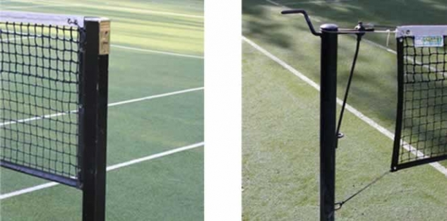Tennis Net Posts - example